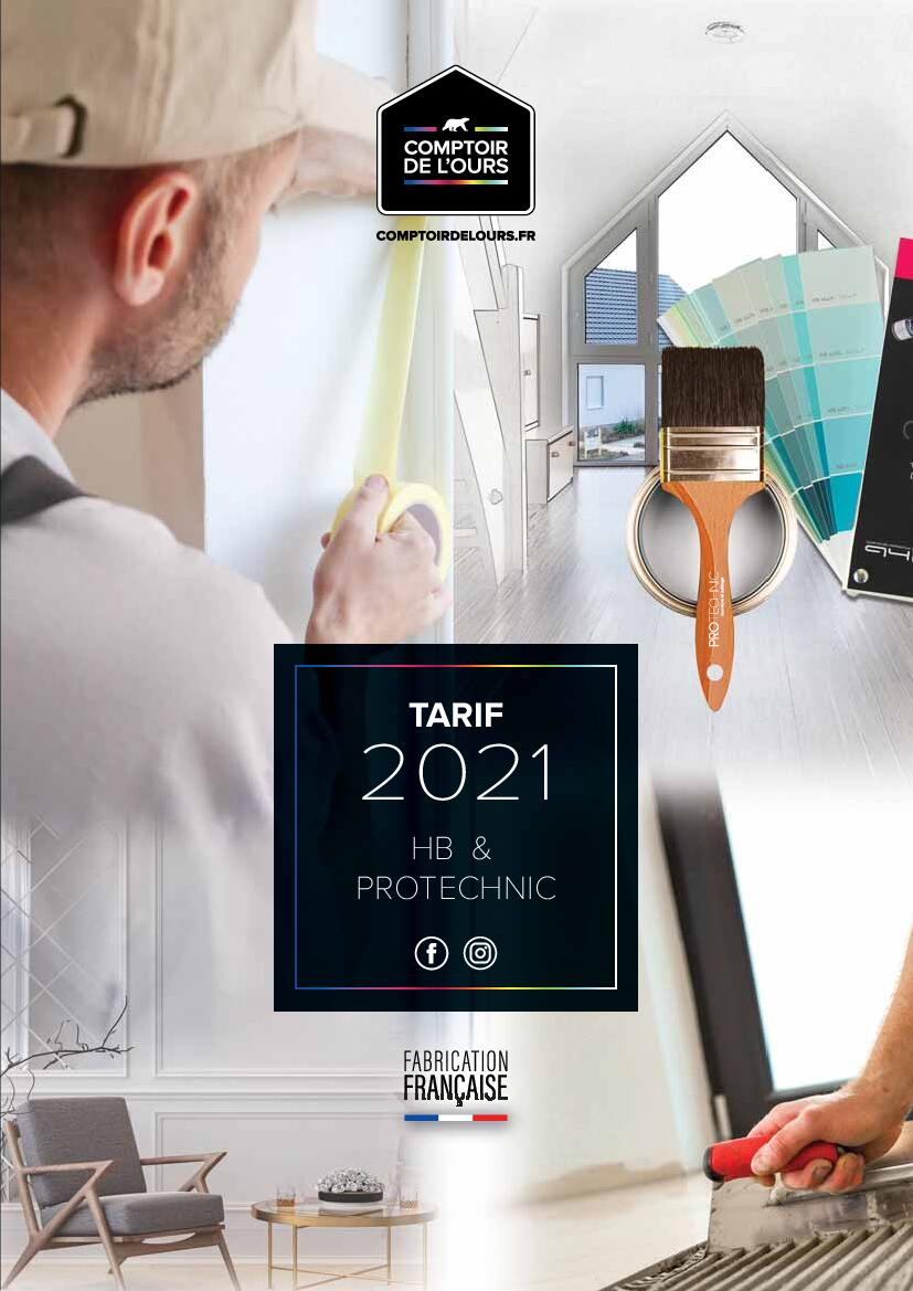 Tarif 2021 HB & Protechnic